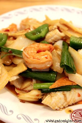 "Mixed Seafood ""Sze Chuan"" Style (四川海鲜), Zi's Café"