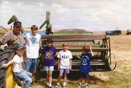 Kids and Grandpa in '97