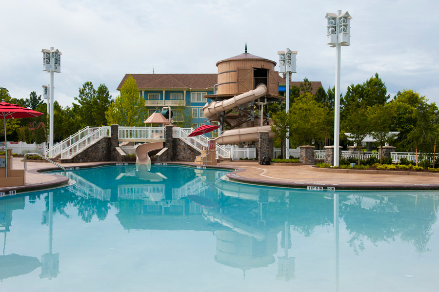 Paddock Pool Opens at Disney's Saratoga Springs Resort and Spa