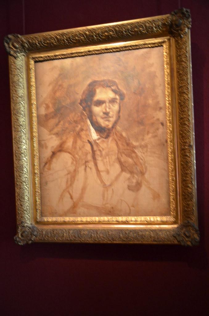 Portrait de Léon Riesener - Delacroix