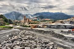 kilang (kepala ular) Tags: cloud rock metal landscape factory cement soil malaysia plantation ipoh hdr kilang