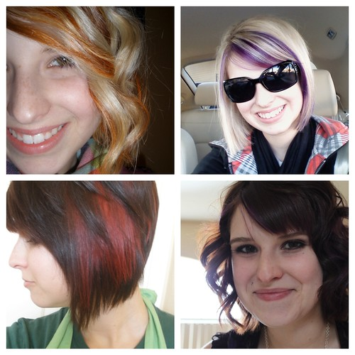 My hair over the years...