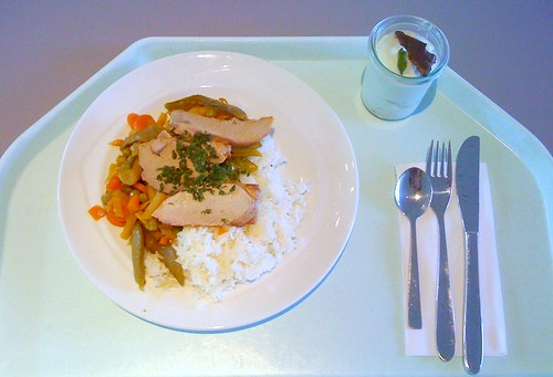 Schweinefilet mit Wokgemüse / Pork filet with wok vegetables