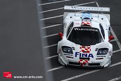 McLaren F1 GTR (Martin Vincent) Tags: red rain race vintage one f1 racing event mclaren formula modena panning rosso supercar gtr sportcar nurburgring 2011 caon mclarenf1gtr eos7d cmarte modenatrackdays2011