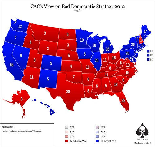 Bad Democratic Electoral Strategy 2012