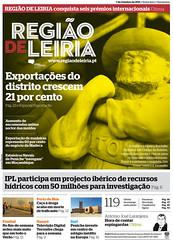 Capa do Região de Leiria da edição 3890 de 07 de Outubro 2011