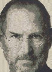Steve Jobs (torgugick) Tags: apple tile lego jobs mosaic steve decorated