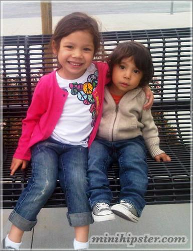 Alessa&Jahwon... MiniHipster.com: kids street fashion (mini hipster .com)