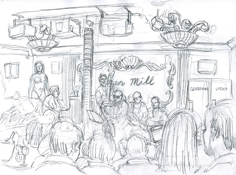 The Green Mill Jazz Club
