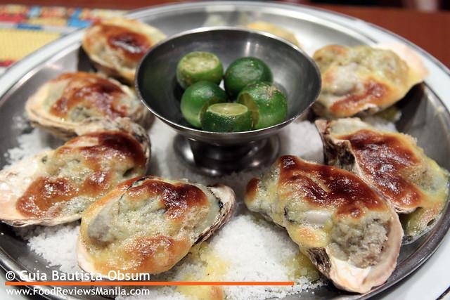 San Mig Oysters Rockefeller 2