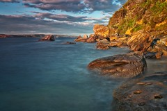Barrenjoey (James.Breeze) Tags: longexposure sea seascape landscape sandstone rocks seascapes australia saltwater pittwater barrenjoey rockformation northernbeaches iso50 canonef1740mmf4l barrenjoeyheadland barrenjoeyhead jamesbreeze