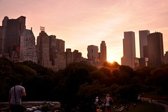 Central Park New York City (Surrealplaces) Tags: new york city newyorkcity urban newyork skyline night centralpark gotham brookylnbridge