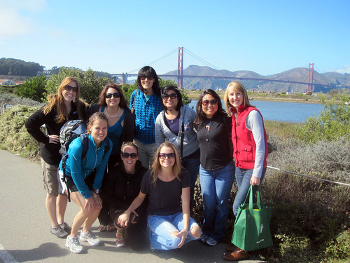 Bloggers at Crissy Field