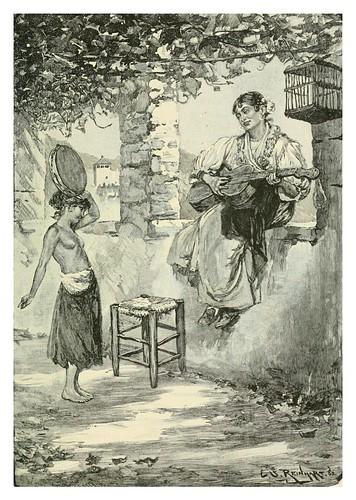 017-Todo el dia estoy feliz-Andalucia-Spanish vistas-1883- George Parsons Lathrop