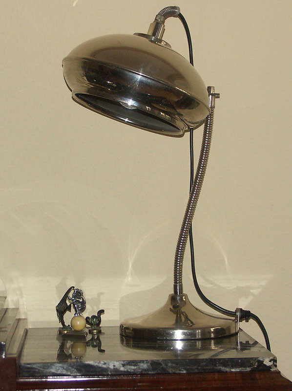 Machine Age - Streamline table lamp - possibly German?