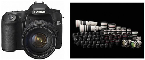 Canon 50D -- Recommended Lenses