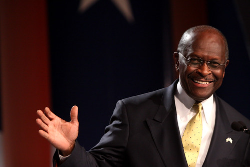 Herman Cain at the Values Voters Summit, October, 2011