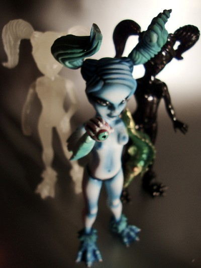 Paul Kaiju new resin girlies