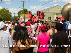 Prince of Wales Social Aid & Pleasure Club Second Line 2011 by Catherine King