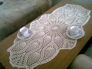 Ravelry Oval Pineapple Doily Pattern By Michelle Starkie