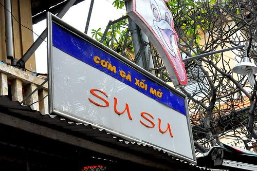 Com Ga Xoi Mo at Su Su - Ho Chi Minh City