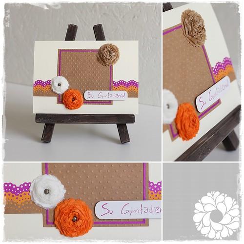 """Atvirukas """"Rudens gimtadienio gėlės"""" / Card """"Autumn birthday flowers"""" by justin.home"""