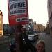 Plakatierung in Erfurt zum Parteitag