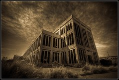 The old Coogee Powerstation (Marc Russo (Australia)) Tags: abandoned sepia danger scary sad spirit ghost australia haunted spooky perth marc shock fremantle hdr coogee russo 50d southfremantle marcrusso ringexcellence powerstartyion