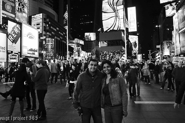 Times Square with TH