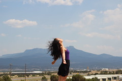 (kay rodri) Tags: road summer portrait mountains self colorado yeah wind 2011