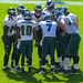 DeSean Jackson, Michael Vick & the Eagles Offense Huddle up