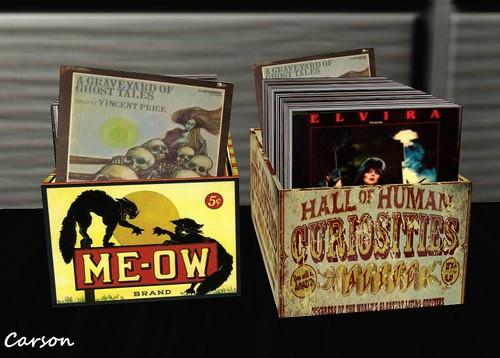 La Flat - Halloween Record Crates  GG