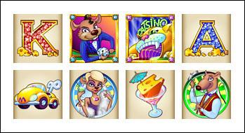 free Mice Dice slot game symbols
