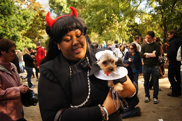 Nun,Halloween Dog Parade, Tompkins Square Park 2011 - East Village, New York City 47