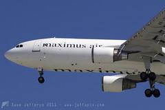 A6-SUL A300F Maximus (JaffaPix +3 million views-thank you.) Tags: airplane flying aircraft aviation aeroplane cargo airbus maximus freighter a300 a300f obbi jaffapix a6sul davejefferys