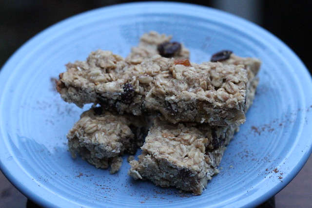 Wheat Free Granola Bars