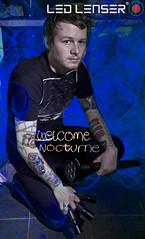 Led Lenser Sponsorship ([Nocturne]) Tags: camera longexposure nightphotography blue lightpainting floor tshirt indoor tattoos nocturne p7 sponsorship elwire x21 mt7 cameratattoo noctography ledlenser wwwnoctographycouk