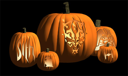 Make your own Star Wars pumpkin with these handy printout designs and easy ...