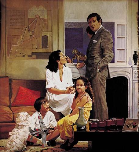 [ B ] Herman Braun-Vega - La famille Thuault (1980) by Cea.