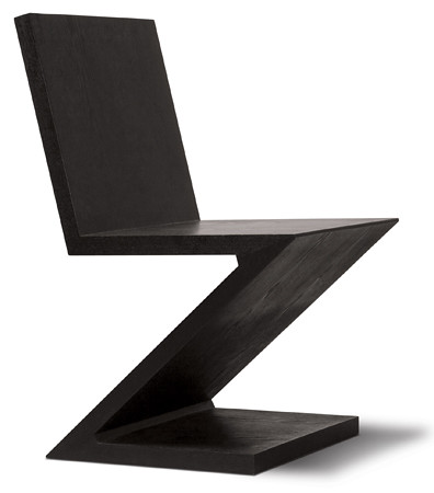 Zig Zag Chair by Gerrit Thomas Rietveld