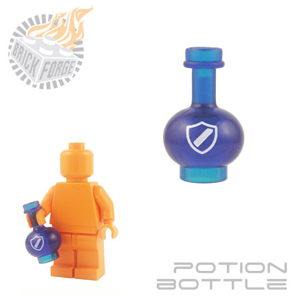 Potion Bottle - Trans Dark Blue (Protection)