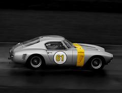 1960 Ferrari 250 GT SWB/C (s/n: 2069GT) (autoidiodyssey) Tags: car race vintage cutout ferrari gt 250 1960 selectivecolor selectivecolour swbc racttcelebration 2011goodwoodrevival