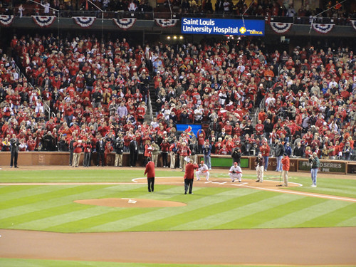 game 2 first pitches