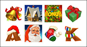 free Santa Surprise slot game symbols