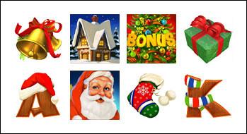 free Santa Surprise slot game symbols