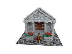 Greek Temple (Grant W.) Tags: statue greek temple lego details cobblestone greektemple ancientgreek
