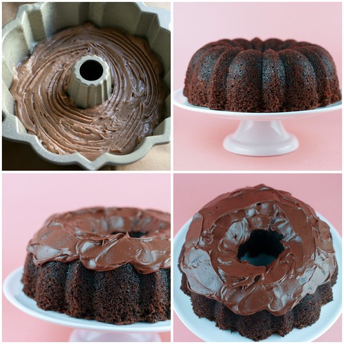 Buried Alive Bundt Cake collage