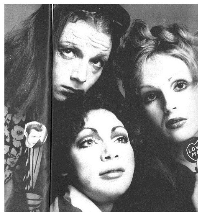 8Candy Darling, Holly Woodlawn  Jackie Curtis Avedon 1972