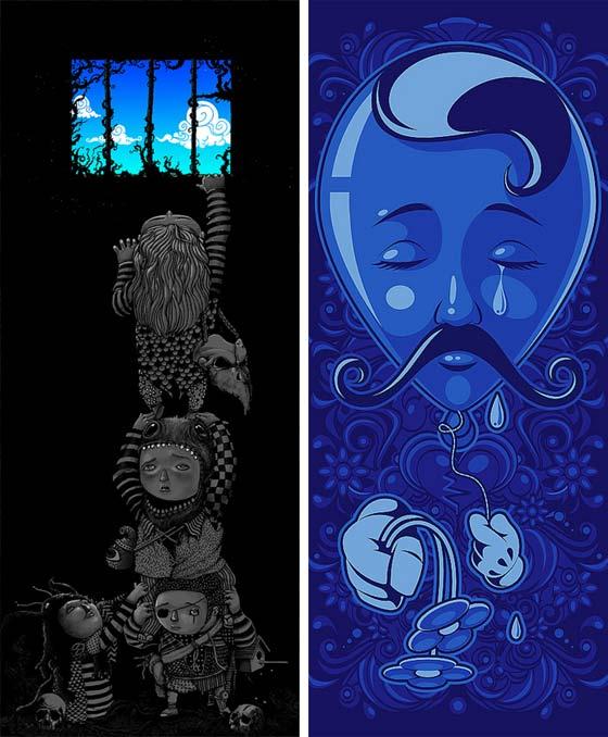 ilustración hecha en Brasil