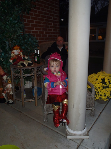 Lilah, Halloween Night!